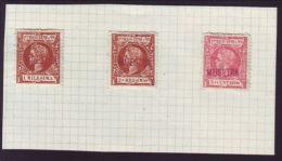 PUERTO RICO 1899 SPECIMENS - Unused Stamps