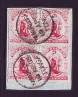 TONGA 1905 NEW ZEALAND 1d's -BLOCK-SCARCE! - Tonga (...-1970)
