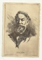 Joachim, Carte Signée O. Pasquier - Célébrités