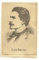 C. De Beriot, Signée O. Pasquier - Célébrités