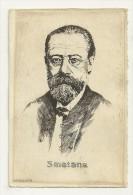 Smetana, Signée O. Pasquier - Célébrités