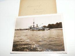 Venezia Nave Da Guerra Porto Kriegsschiff Warship Italy Italia Foto Photo - Lieux