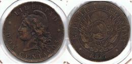 ARGENTINA 2 CENTAVOS PESO 1895 E1 - Argentina