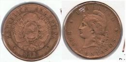 ARGENTINA 2 CENTAVOS PESO 1895 E2 - Argentina