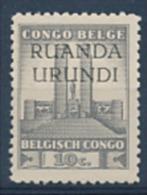 Ruanda Urundi - 121 - Monument Roi Albert - 1941