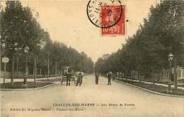 51 - 240615b - CHALONS SUR MARNE - Les Allées De Forêts - Attelage Cheval - Châlons-sur-Marne