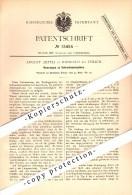 Original Patent - August Aeppli In Riesbach B. Zürich , 1881 , Schraubenpropeller , Schiffbau , Schiffe !!! - Documents Historiques