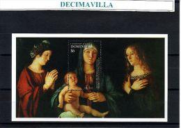 DOMINICA, NAVIDAD 2001, H.B. 441, PINT135 - Madonnas