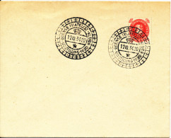 Denmark Cover Stamp Exhibition Odense 12-10-1930 Special Postmark - Expositions Philatéliques