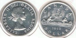 CANADA DOLLAR CANOA 1962 PLATA SILVER E1 - Canada