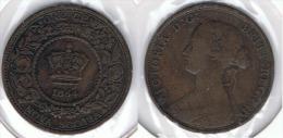 CANADA NUEVA ESCOCIA VICTORIA CENT 1864 - Canada