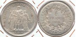 FRANCIA FRANCE 5 FRANCS 1873 A PLATA SILVER. E1 - J. 5 Francos