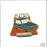 Pin´s Automobile - Peugeot / 205 Roland Garros. Est Arthus Bertrand. Zamac. T379-02 - Peugeot