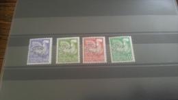 LOT 264054 TIMBRE DE FRANCE NEUF** N�119 A 122 VALEUR 50 EUROS LUXE
