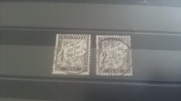 LOT 264069 TIMBRE DE FRANCE OBLITERE N�10/11 VALEUR 62,5 EUROS