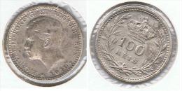PORTUGAL 100 REIS 1910 PLATA SILVER E1 - Portugal