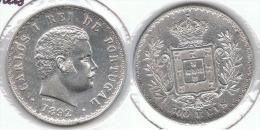 PORTUGAL 500 REIS 1892 PLATA SILVER E1 - Portugal