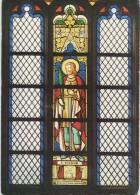 Molenroute Kinrooi - Sint-Martinuskerk - Glasraam Met Sint-Viktor, Patroon Der Maalders - Kinrooi