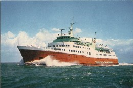 CPA-1965-FERRY-CIE THORESEN CAR FERRIES-VIKING 1-SOUTHAMPTON-LE HAVRE-CHERBOURG-TBE - Ferries