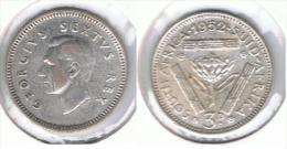 SUDAFRICA SOUTH AFRICA 3 PENCE 1952 PLATA SILVER E1 - Sudáfrica