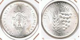 VATICANO  500 LIRAS 1975 PLATA SILVER E1 - Vaticano (Ciudad Del)