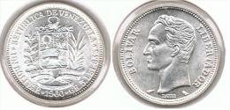 VENEZUELA  BOLIVAR 1960 PLATA SILVER E1.png SIN CIRCULAR - Venezuela