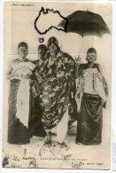 - Algérie - L´Ex-roi Behanzin, Et Ses Femmes, écrite,  En 1906, TBE, Scans.. - Hommes