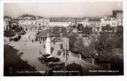 RUSSE (Bulgarien) Gesamtansicht, Gel.1936, Abgel.Marke - Bulgarien