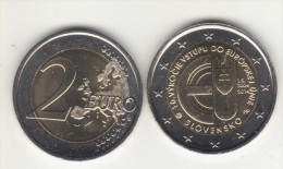 SLOVAKIA 2 € 2014 10 Years In EU - Slovaquie