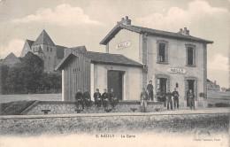 89 - Nailly - La Gare Animée - Autres Communes