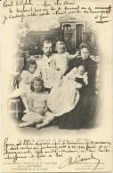 FAMILLE IMPERIALE DE RUSSIE: TSAR NICOLAS II, Sa Femme Et Ses Enfants   Photo L.Levitsky 16 Août 1901 - Russia