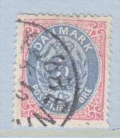 DENMARK  27      Perf.  14 X  13 1/2  (o) - 1864-04 (Christian IX)