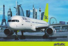 AIRBALTIC, Official Postcard (Summer 2011) - Publicidad