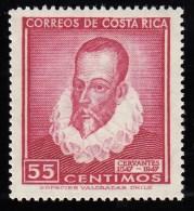 COSTA RICA - Scott #250 Cervantes / Mint NH Stamp - Costa Rica