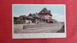 - Massachusetts> Springfield  Depot Union Station   1871