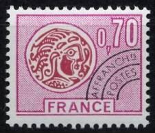N° 136  Année 1975 Monnaie Gauloise, Valeur Faciale 0,70 F - Precancels