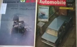 L´AUTOMOBILE N.8 21/2/65 L'ANGLIA - TORINO/ BELLUNO/ CAPRI - Motoren
