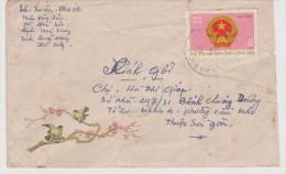 NORTH VIETNAM  SCOTT N°  787  ON COVER SEE 2 SCANS     Réf   0107 - Vietnam