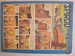 SPIROU N°1109  EDITION 1959 - Spirou Et Fantasio