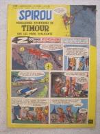 SPIROU N°1106  EDITION 1959 - Spirou Et Fantasio