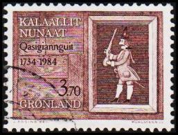 1984. Christianshåbs 250 Years. 3,70 Kr.  (Michel: 152) - JF175295 - Groenlandia