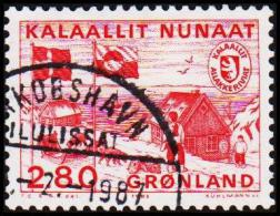 1986. Greenland Postal Administration. 2,80 Kr. Red (Michel: 163) - JF175303 - Groenland