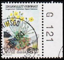 1989. Flowers Series I. 10,00 Kr.  (Michel: 198) - JF175326 - Groenlandia