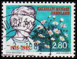 1985. Queen Ingrids. 2,80 Kr.  (Michel: 159) - JF175299 - Groenland