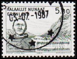 1984. The Artist Henrik Lund. 5,00 Kr.  (Michel: 153) - JF175296 - Groenland