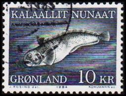 1984. Catfish. 10 Kr.  (Michel: 154) - JF175297 - Groenlandia