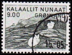 1985. Painting By Gerhard Kleis. 9,00 Kr.  (Michel: 161) - JF175302 - Groenlandia