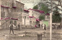 """ST PIERRE DE BOEUF """" Le Café Du Bac """" L'arbre De La Liberté"""" - Other Municipalities"""