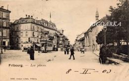 FRIBOURG.- LES PLACES - FR Fribourg