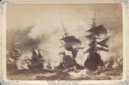 Carte Photo Musée Du Luxembourg, Combat Du Texel, Par Isabey - Altre Collezioni
